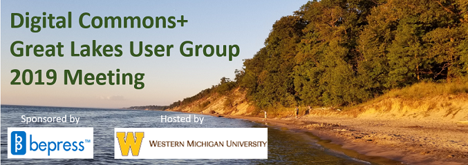 Digital Commons+ Great Lakes User Group 2019 Meeting