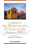 A Companion to the Literature and Culture of the American West by Nicolas Witschi