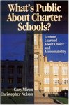 What's Public About Charter Schools?: Lessons Learned About Choice and Accountability by Gary Miron and Christopher D. Nelson