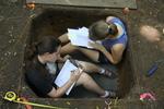 Unit Excavation Record by Sue Reichert