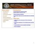 WMU International News September 2007 by Haenicke Institute for Global Education
