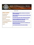 WMU International News November 2008 by Haenicke Institute for Global Education