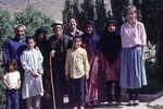 Family with whom Loeffler/Friedl stayed at field location by Reinhold Loeffler