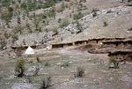 White tent of tribal school system, Boir Ahmad by Reinhold Loeffler