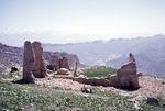 Ruins of Bagh Malek fort, 18th century, Boir Ahmad by Reinhold Loeffler