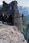 Ruins of a tribal chief's fort, Boir Ahmad by Reinhold Loeffler