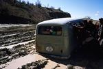 Loeffler field vehicle 1965, stuck in the mud, Boir Ahmad by Reinhold Loeffler