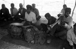Wedding musicians, rural Boir Ahmad by Reinhold Loeffler
