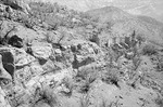 Ruins of fort at Qale Karré, Boir Ahmad by Reinhold Loeffler