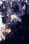 Professional mourner at martyr's funeral, Beheshte Zara by Reinhold Loeffler