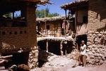 Traditional homes in a Boir Ahmad village by Reinhold Loeffler