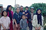 Family with whom Loeffler family stayed during fieldwork in Sisakht by Reinhold Loeffler