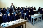 Girls' high school Boir Ahmad by Reinhold Loeffler