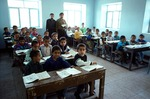 Boys' elementary school in Boir Ahmad by Reinhold Loeffler
