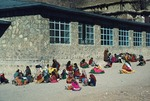 Classroom in Sisakht by Reinhold Loeffler