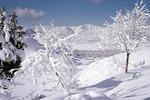 Winter landscape, Sisakht, Boir Ahmad by Reinhold Loeffler