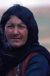 Portrait of a young woman in Boir Ahmad by Reinhold Loeffler