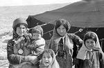Transhumance pastoralists, women by Reinhold Loeffler