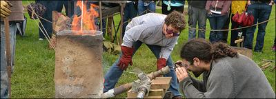 Iron Smelting Demonstration