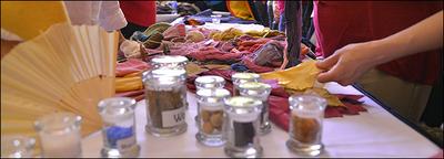Textile Arts Display