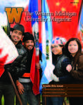 WMU News Magazine Winter 2012 Cover Page by Western Michigan University