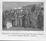 YMCA Greets Repatriated British POWs at the Cannon Street Railway Station