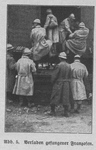 French POWs Depart Germany by Train