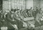 Repatriated French POWs Wait for a Train in Switzerland