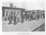 French POWs Pull a Wagon through a German Prison Camp