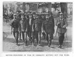 British POW Labor Detachment off to Work