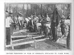 British POWs Work on a Farm