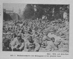 French POWs at Laon Await Transportation to Germany