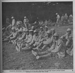 Senegalese POWs in a Prison Compound