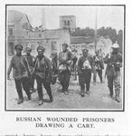 Wounded Russian POWs
