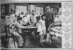 Wounded French POWs Play Chess in a German Hospital