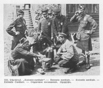 Allied POWs Share Tea at Ohrdruf
