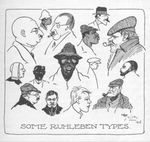 Types of British and Imperial Internees at Ruhleben