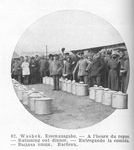 Distribution of Dinner Rations at Wasbek