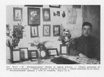 British POW in His Room at Werl