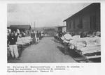 POWs Airing out Their Mattresses at Zwickau