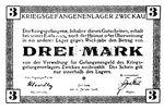 Three Mark Script Note from Zwickau