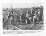 Russian POWs Building Security Fences at Buetow
