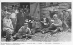 French POWs Eat Lunch at Hammelburg