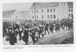 Arrival of French POWs at Heuberg