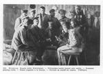 War Prisoners Enjoy a Card Game in Heuberg