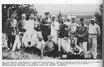 Convalescent POWs on a Walk at Grafenwoehr