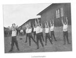 POWs Exercising Outdoors at Goettigen