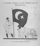 German Cartoon of the British Surrender at Kut-al-Amara