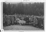 Burian of a Russian POW at Spratzern